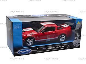 Модель Shelby Cobra GT500 2007, 22473W, магазин игрушек