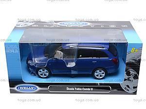 Модель Skoda Fabia Combi, 22519W, игрушки