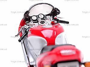 Модель спортивного мотоцикла, 19660PWD-JA, фото