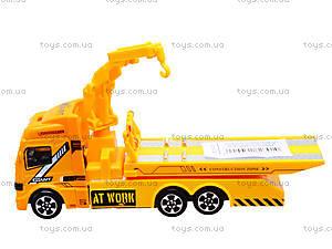 Игровая инерционная машина «Стройка», MY66-031, цена