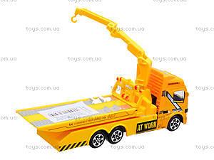Игровая инерционная машина «Стройка», MY66-031, магазин игрушек