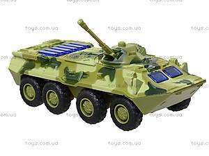 Металлическая модель танка «Автопарк» со светом, 6409D, фото