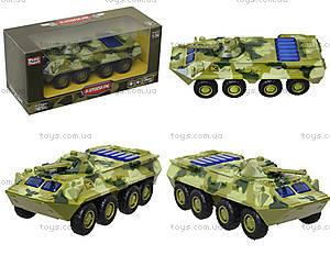 Металлическая модель танка «Автопарк» со светом, 6409D