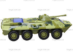 Металлическая модель танка «Автопарк» со светом, 6409D, цена