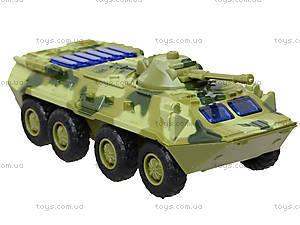 Металлическая модель танка «Автопарк» со светом, 6409D, детские игрушки