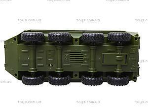 Модель танка «Автопарк» со звуковыми эффектами, 9629A, детские игрушки