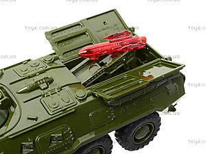 Модель танка «Автопарк» со звуковыми эффектами, 9629A, toys.com.ua