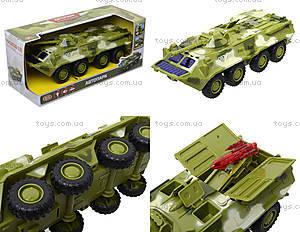 Инерционная модель танка PLAY SMART «Автопарк», 9629B