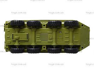 Инерционная модель танка PLAY SMART «Автопарк», 9629B, детские игрушки
