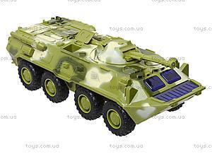 Инерционная модель танка PLAY SMART «Автопарк», 9629B, магазин игрушек