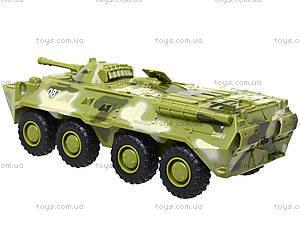 Инерционная модель танка PLAY SMART «Автопарк», 9629B, toys.com.ua