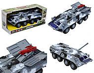Игрушечная модель танка серии «Автопарк», 9629C, интернет магазин22 игрушки Украина