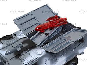 Игрушечная модель танка серии «Автопарк», 9629C, игрушки