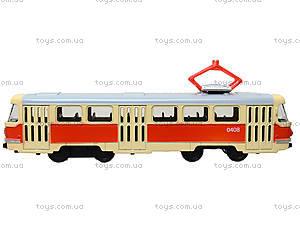 Металлическая модель трамвая «Автопром», 6411ABCD, фото