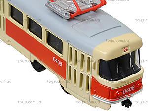 Металлическая модель трамвая «Автопром», 6411ABCD, отзывы