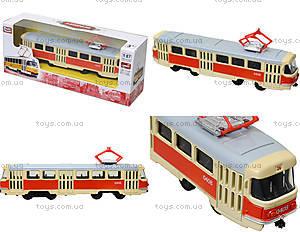 Металлическая модель трамвая «Автопром», 6411ABCD