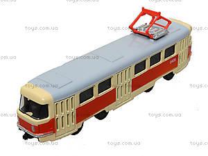 Металлическая модель трамвая «Автопром», 6411ABCD, цена