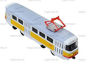 Игрушечный трамвай «Автопарк» со звуковыми эффектами, 6411B, отзывы