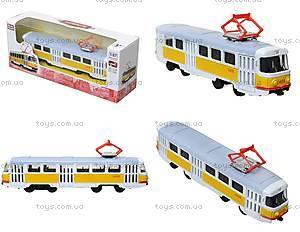 Игрушечный трамвай «Автопарк» со звуковыми эффектами, 6411B