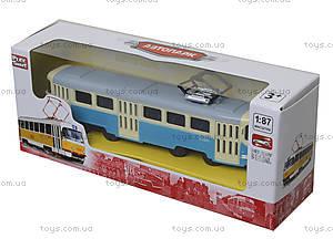 Детская модель трамвая «Автопарк», 6411C, отзывы