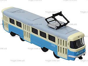 Детская модель трамвая «Автопарк», 6411C, цена