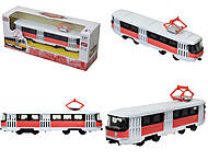 Металлическая модель трамвая «Автопарк», 6411D, фото