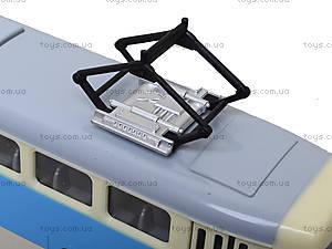 Игрушечный трамвай PLAY SMART «Автопарк», 6551, цена