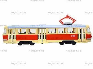 Модель трамвая со световыми, звуковыми эффектами, 9708A, цена