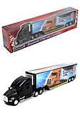 Игрушечный трейлер Kenworth T700 с прицепом, KT1302W, купить