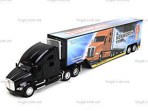 Игрушечный трейлер Kenworth T700 с прицепом, KT1302W, детские игрушки