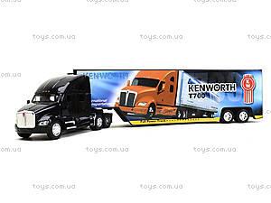 Игрушечный трейлер Kenworth T700 с прицепом, KT1302W, магазин игрушек