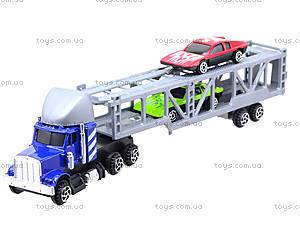 Игрушечный трейлер с машинками для детей, H36033(999-4), цена