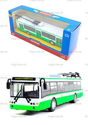 Инерционная модель троллейбуса «Автопарк», 6407A