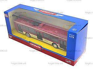 Игрушечный троллейбус «Автопарк», 6407C, цена