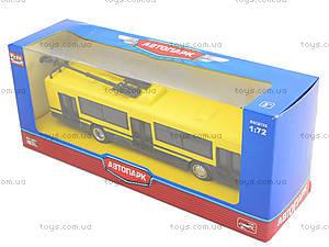 Модель троллейбуса «Автопарк», 6407D, отзывы