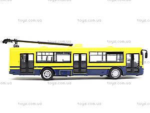 Модель троллейбуса «Автопарк», 6407D, игрушки