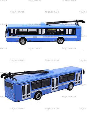 Игрушечная модель троллейбуса «Автопарк», 6547