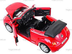 Модель VOLKSWAGEN NEW BEETLE, масштаб 1:24 , 22453W, toys.com.ua