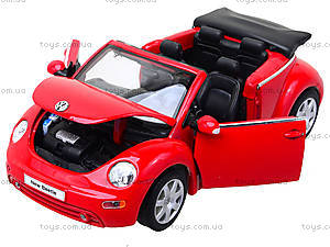 Модель VOLKSWAGEN NEW BEETLE, масштаб 1:24 , 22453W, toys