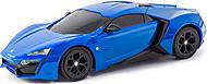 Автомодель W Motors Lykan Hypersport с инерционным механизмом, синяя, 89791, купить