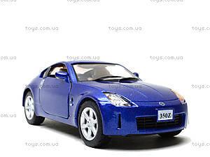 Моделька машины Nissan Fairlady 350Z, KT5061W, игрушки