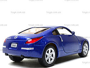 Моделька машины Nissan Fairlady 350Z, KT5061W, toys.com.ua