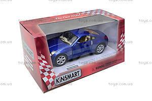Моделька машины Nissan Fairlady 350Z, KT5061W, toys