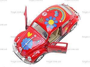 Моделька машины Volkswagen Classical Beetle, KT5057WF, фото