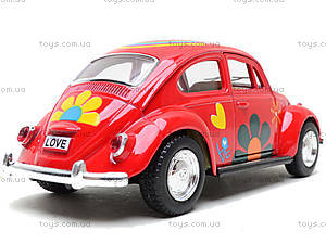 Моделька машины Volkswagen Classical Beetle, KT5057WF, отзывы