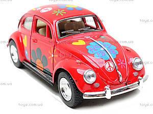 Моделька машины Volkswagen Classical Beetle, KT5057WF, игрушки