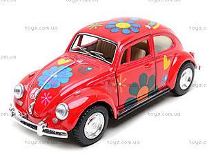 Моделька машины Volkswagen Classical Beetle, KT5057WF, детские игрушки
