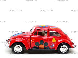 Моделька машины Volkswagen Classical Beetle, KT5057WF, магазин игрушек
