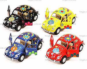 Моделька машины Volkswagen Classical Beetle, KT5057WF, купить