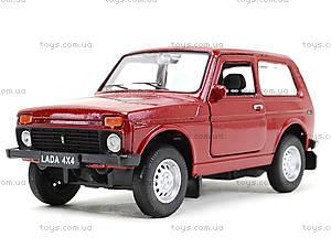 Моделька машины Lada, 42386W, магазин игрушек